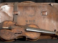 Violin Retrieved from the Titanic Disaster Sells for $1.4 Million